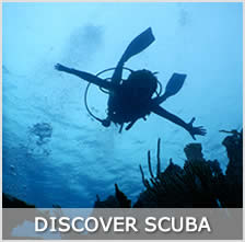 Your first experience with scuba